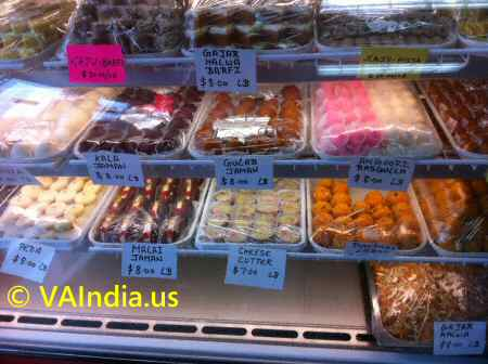 Indian Sweets Counter image © VAIndia.us